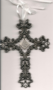 Wedding Filigree Cross