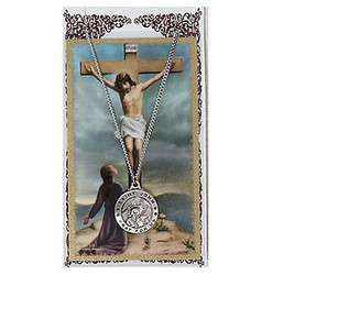 Saint John Prayer Card and Medal Set