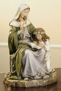 "7"" Saint Anne Statue Renaissance Collection"