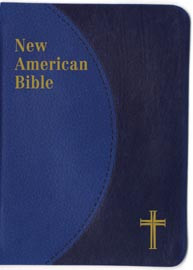 Blue Duotone New American Bible Personal Size