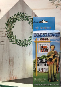 Saint Joseph Home Seller Kit with Statue