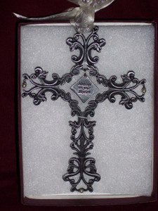 Baptism Filigree Cross