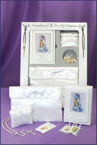 Girl's Deluxe First Communion Set