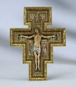 "6"" San Damiano Wall Cross"