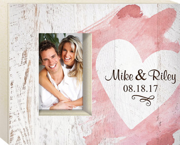 Personalized 4x6 Box Frames - Various Styles