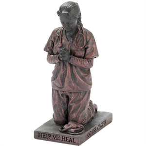 "5.75"" Kneeling Nurse Figurine"