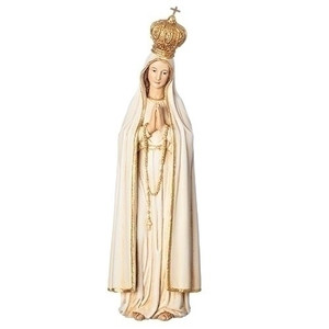 "7"" Our Lady of Fatima Statue Renaissance Collection"