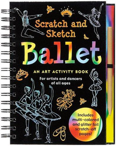 Ballet Scratch and Sketch Book