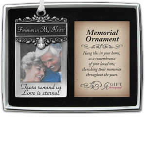 Forever in my Heart Photo Ornament
