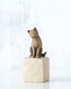 Love my Cat Willow Tree® Figure