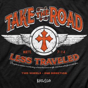 Take the Road Adult T- Shirt
