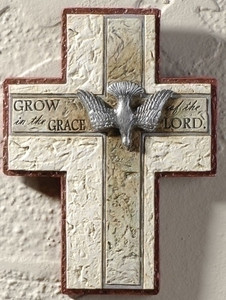 "7"" Confirmation Wall Cross"