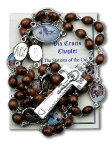 Stations of the Cross Deluxe Chaplet