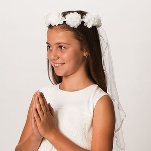 First Communion Veil-Emily