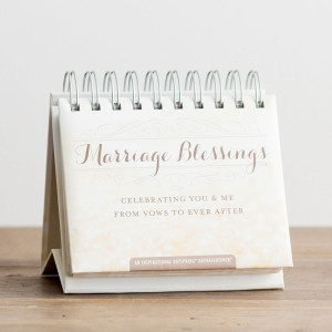 Marriage Blessings  365 DayBrightener Calendar