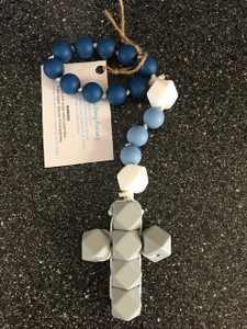 Baby Teething Rosary One Decade