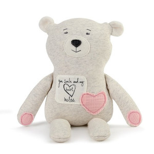 Poetic Threads  Girl Bear