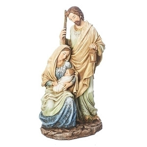 "10.5"" Holy Family Statue"