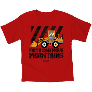 Faith Can Move Mountains Youth T-shirt