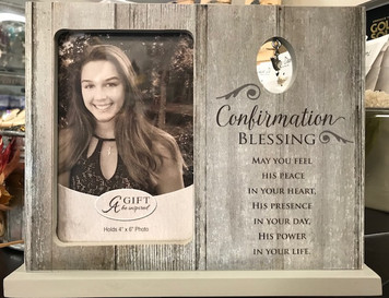 Confirmation Blessing Frame 4x6