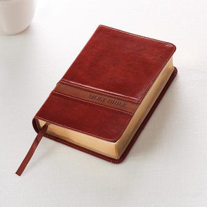 KJV Compact Large Print- Brown