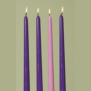 Advent Candles Pack of 4