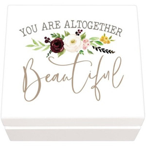 You Are Altogether Beautiful (Jewelry Box)