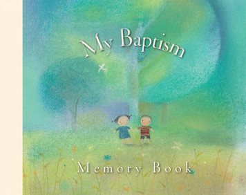 My Baptism Memory Book