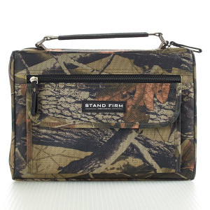 Canvas Camo-Large Bible Cover