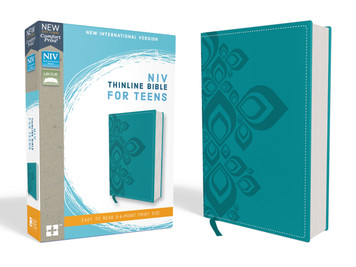 NIV Thinline Bible for Teens- Teal