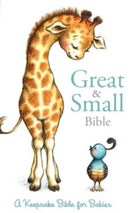 CSB Great and Small Bible (Boxed): A Keepsake Bible for Babies
