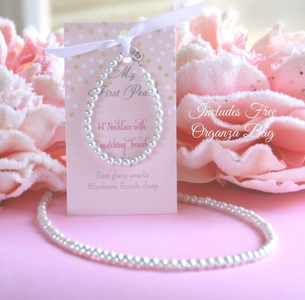 My First Pearls Set with Organza Bag