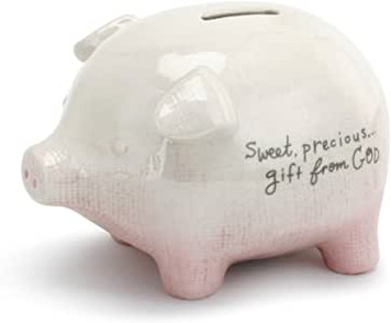 Pink Gift From God Piggy Bank