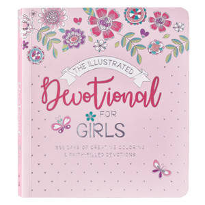 Illustrated Devotional for Girls - Softcover by, Carolyn Larsen