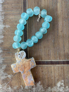 Medium Glass Blessing Beads by Julie Ribando