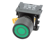 ATI PF22mm Latching Maintained Push Button Switch 1NO Flush