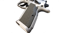 Tanfoglio Stock 1, Stock 2, Stock 3, G10 Textured Grips by LokGrips lok grips