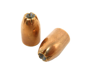 Zero 9mm 125 GR Jacketed Hollow Point (JHP) Bullet Projectiles