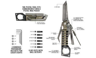 The Pistol Tool Multi-Tool by Real Avid