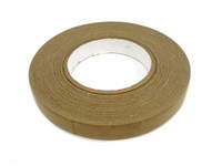 "3/4"" x 60 Yard Brown Target Pasting Tape Roll"