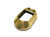 Limcat Custom 2011 Brass Magwell with Steel Insert (LCC-BMW)