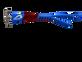 Pilla Outlaw X6 Shooting Eye Glasses Red White Blue