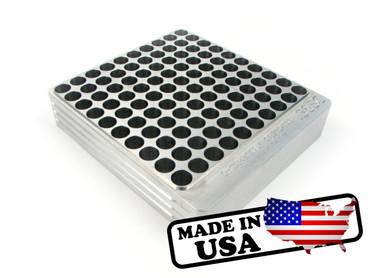 100-Hole 38 Super Comp / TJ / Rimless Hundo Chamber Checker Cartridge Case Gauge by Shockbottle Shock Bottle
