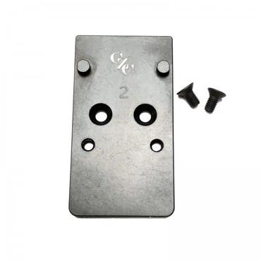 CZC CZ P10 Optic Ready Mounting Plate RMR & Holosun by CZ Custom (16065)