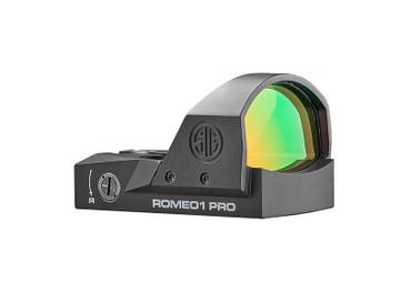 Sig Sauer Romeo1 Pro 6 MOA Red Dot Optic Sight (SOR1P101)