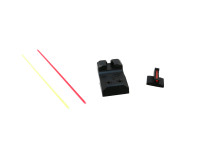 Frank Proctor Fiber Optic Sight Set for 1911 & 2011 with Novak Cut