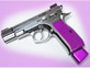 CZ SP-01 Shadow Contoured & Textured Grips by Henning (H023-CZ75) Purple