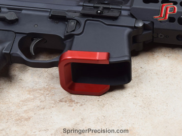 Sig Sauer MPX Aluminum Magwell by Springer Precision (SP0228) Red