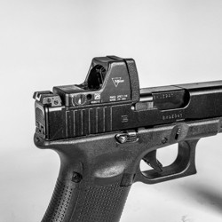 Glock MOS V4 Defender Optic Plate for Trijicon RMR (Type 1 & 2) by CHPWS