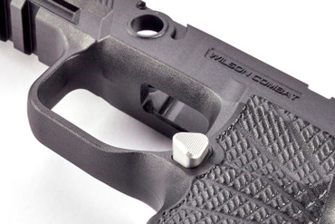 Sig Sauer P320 Stainless Extended Mag Release by Wilson Combat (320-MCS)